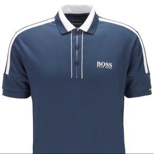 NWT Hugo Boss Blue Polo Shirt